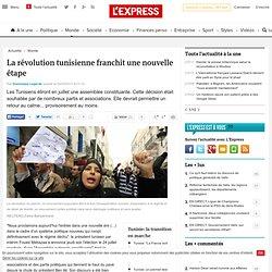 La révolution tunisienne franchit une nouvelle étape