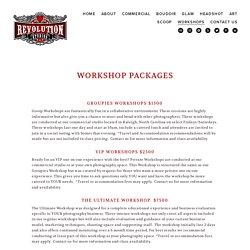 Revolution Studios - Workshop Packages