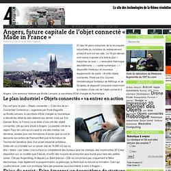 Angers, future capitale de l'objet connecté « Made in France »