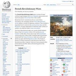 French Revolutionary Wars 1792-1802