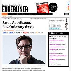 Jacob Appelbaum: Revolutionary times