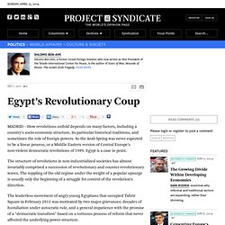 Egypt's Revolutionary Coup - Shlomo Ben-Ami - Project Syndicate