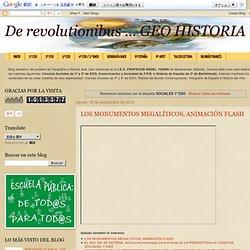 De revolutionibus ... GEO HISTORIA: SOCIALES 1º ESO