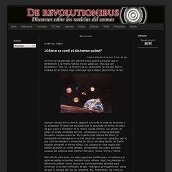 De Revolutionibus: Noticias del cosmos
