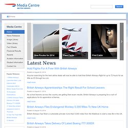 British Airways Revolutionises Customer Service Using iPads « British Airways Press Office