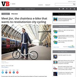 Meet Jivr, the chainless e-bike that wants to revolutionize city cycling