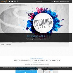 Revolutionize Your Event with Whova - My Event Apps