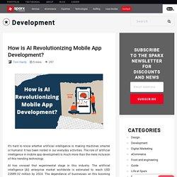 How is AI Revolutionizing Mobile App Development?