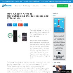 How Amazon Alexa is Revolutionizing the Businesses and Enterprises