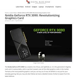 Nvidia GeForce RTX 3090: Revolutionizing Graphics Card - Digital Blog Zone