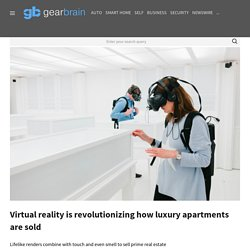 Virtual reality is revolutionizing the real estate industry