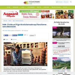 Inde : il crée un frigo révolutionnaire qui fonctionne sans électricité