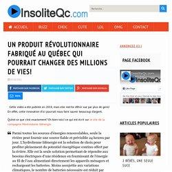 Un produit révolutionnaire fabriqué au Québec qui pourrait changer des millions de vies! - InsoliteQc.com
