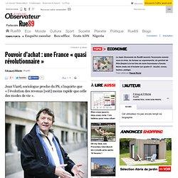 """Pouvoir d'achat : une France """"quasi révolutionnaire"""""""