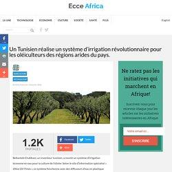 Un Tunisien réalise un système d'irrigation révolutionnaire pour les oléiculteurs des régions arides du pays. - Ecce Africa