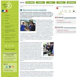 Révolutionnaire tablette - Retrouvez l'actualité - février 2013