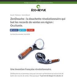 Pommeau de douche révolutionnaire ZenDouche.