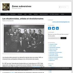 Les situationnistes, artistes et révolutionnaires