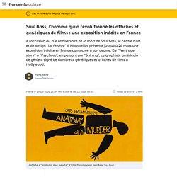 Saul Bass, l'homme qui a révolutionné les affiches et génériques de films : une exposition inédite en France