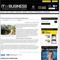 VMware révolutionne la virtualisation d'applications