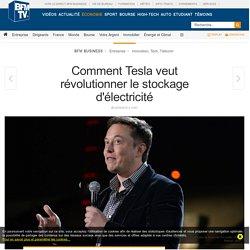 Comment Tesla veut révolutionner le stockage d'électricité