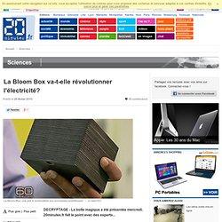 La Bloom Box va-t-elle révolutionner l'électricité? - 20minutes.