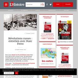Révolutions russes : entretien avec Marc Ferro
