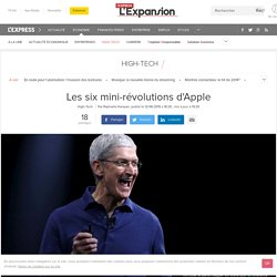 Les six mini-révolutions d'Apple - L'Express L'Expansion