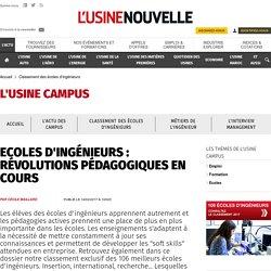 Ecoles d'ingénieurs : révolutions pédagogiques en cours - Classement des écoles d'ingénieurs