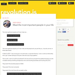revolutions.is - Weekly stories from change-makers and culture-shapers