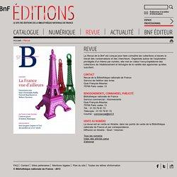 Revue de la BNF [Site officiel]