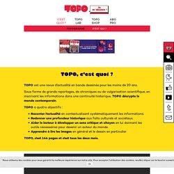 TOPO - la revue d'actualité en bande dessinée pour les moins de 20 ans
