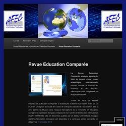 Revue Education Comparée