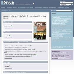 Revue Hospitalière de France - 537