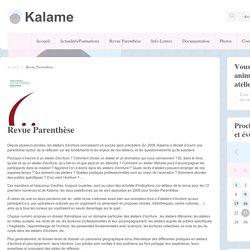 Revue Parenthèse - Réseau Kalame