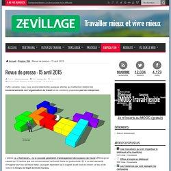 Revue de presse - 15 avril 2015