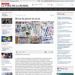 Russes : préférences pour petits voyages + montée tme interne