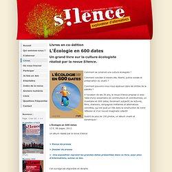 Revue S!lence- Livres en co-édition