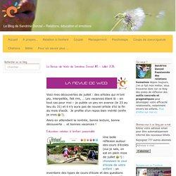 La Revue de Web de Sandrine Donzel #3 – Juillet 2015