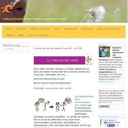 La Revue de Web de Sandrine Donzel #2 – Juin 2015