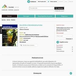 Revue Sociétés & Représentations 2008/2, Gloire et Pouvoir