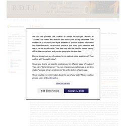Brèves de la R.D.T.I - Revue du Droit des Technologies de l'Information