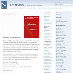 La revue des revues Archive ⋆ Ent'revues, le site des revues culturelles