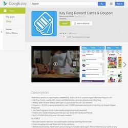 Key Ring Reward Cards & Coupon