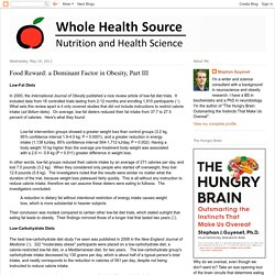 Whole Health Source: Food Reward: a Dominant Factor in Obesity, Part III