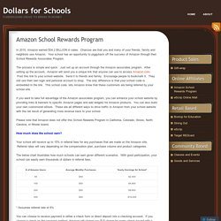 Amazon School Rewards Program