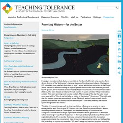 Rewriting History—for the Better