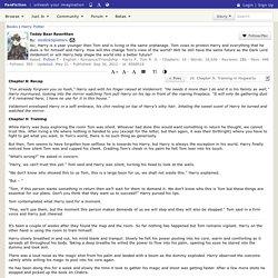 Teddy Bear Rewritten Chapter 9: Training in Hogwarts, a harry potter fanfic