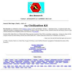 "The Civilization Kit"""