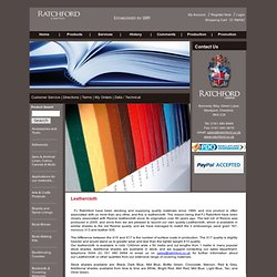 Binding Products - Book Covering Materials UK